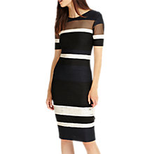 Buy Phase Eight Ginny Stripe Dress, Multi Online at johnlewis.com