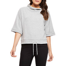 Buy Jaeger Drawstring Sweater, Grey Online at johnlewis.com
