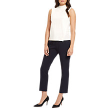Buy Jaeger Asymmetric Top, Ivory Online at johnlewis.com