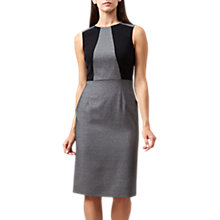 Buy Hobbs Marlene Dress, Black/Ivory Online at johnlewis.com