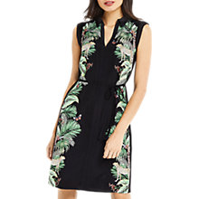 Buy Oasis ZSL Jenkins Placement Dress, Multi Black Online at johnlewis.com