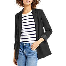 Buy Oasis Boyfriend Blazer, Black Online at johnlewis.com