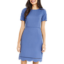 Buy Oasis Long Length Scallop Sleeve Dress Online at johnlewis.com