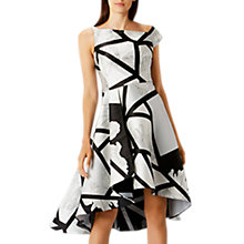 Buy Coast Barton Print Full Midi Dress, Multi Online at johnlewis.com