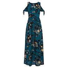 Buy Oasis Shipwrecked Cold Shoulder Maxi Dress, Multi Online at johnlewis.com