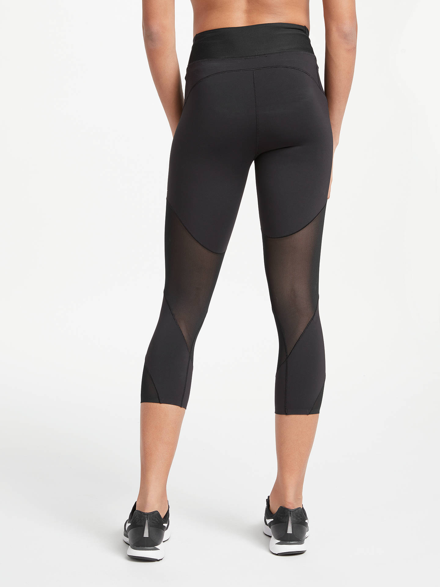 12c171279a4a5 ... Buy Nike Fly Lux Training Crops, Black, XS Online at johnlewis.com ...