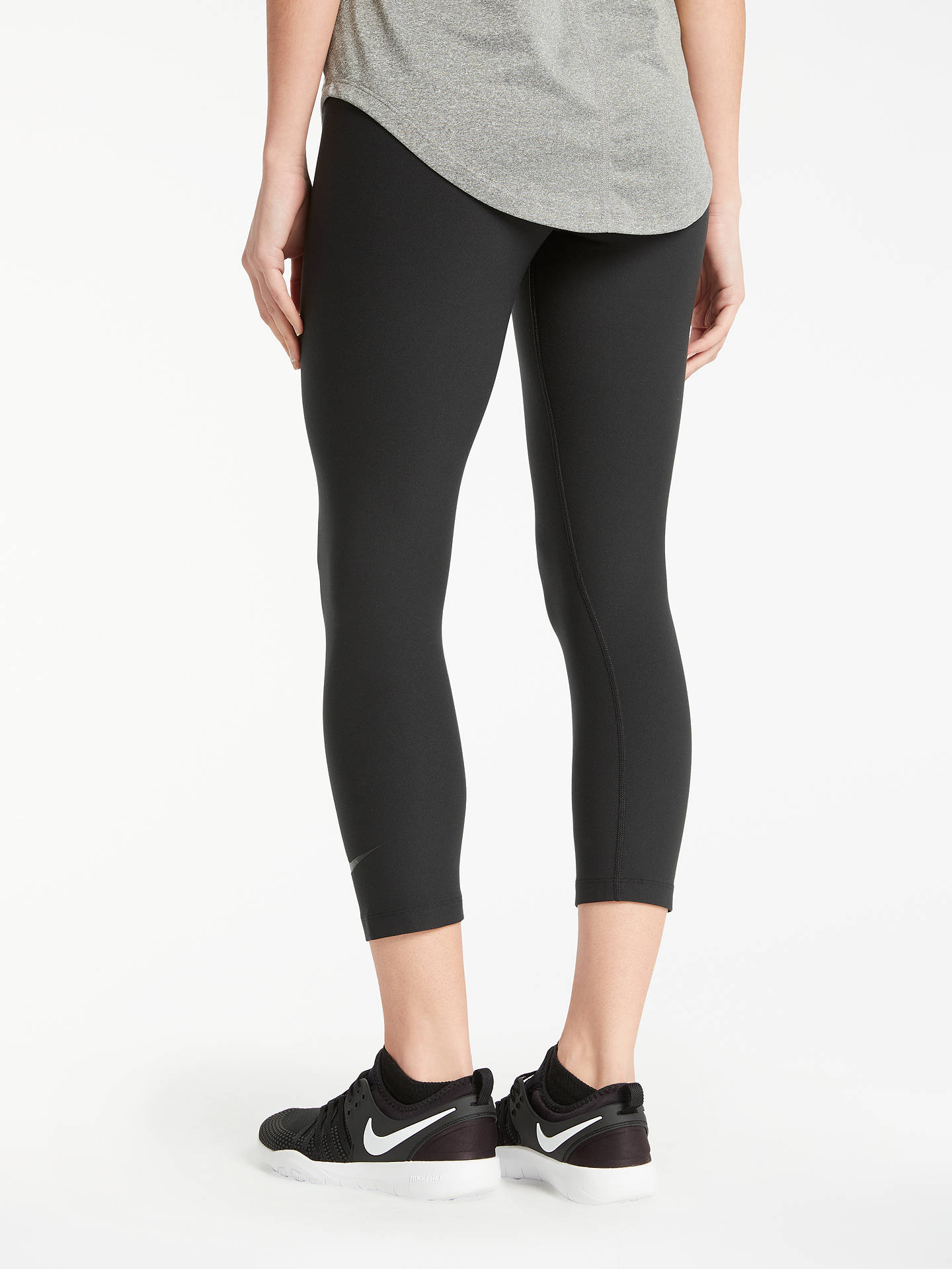 e99388f17912a ... Buy Nike Sculpt Hyper Training Crops, Black, XS Online at johnlewis.com