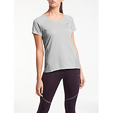 Buy Nike Dry Miler Flash Running Top, Wolf Grey Online at johnlewis.com