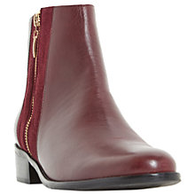 Buy Dune Pauler Block Heeled Ankle Boots Online at johnlewis.com