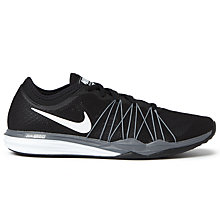 Buy Nike Dual Fusion TR HIT Women's Cross Trainers, Black/White Online at johnlewis.com