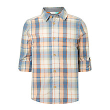 Buy John Lewis Boys' Check Shirt, Multi Online at johnlewis.com