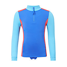 Buy John Lewis Girls' Colour Block Sunpro Set, Blue Online at johnlewis.com