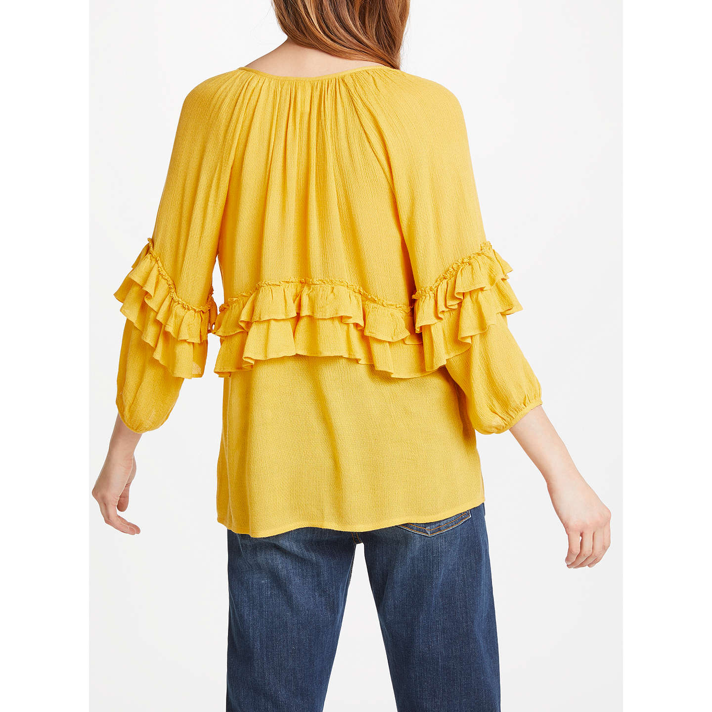 AND/OR Billie Jean Blouse, Ochre