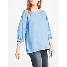 Buy AND/OR Jojo Top, Blue Online at johnlewis.com