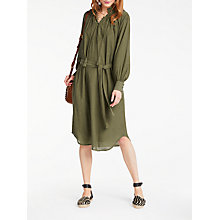 Buy AND/OR Freida Dress, Olive Online at johnlewis.com
