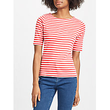 Buy John Lewis Half Sleeve Breton T-Shirt Online at johnlewis.com