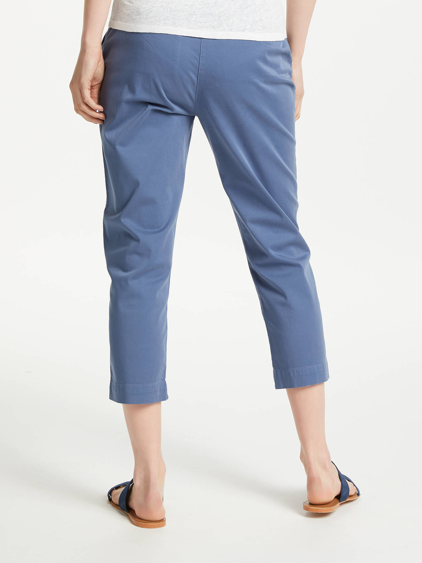 BuyJohn Lewis & Partners Crop Chinos, Coastal Fiord, 8 Online at johnlewis.com