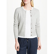 Buy Collection WEEKEND by John Lewis Cashmere Crew Neck Cardigan Online at johnlewis.com