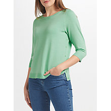 Buy John Lewis Side Button Boat Neck Jumper Online at johnlewis.com