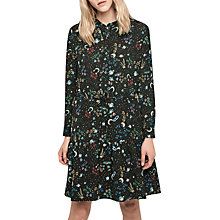 Buy Gerard Darel Naelle Shirt Dress, Noir Online at johnlewis.com