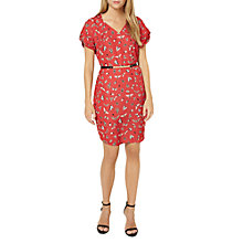 Buy Damsel in a dress Haversham Print Dress, Red Online at johnlewis.com