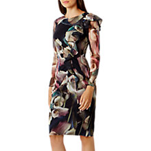 Buy Coast Lily Print Mesh Dress, Multi Online at johnlewis.com