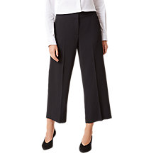 Buy Hobbs Lula Trousers, Black Online at johnlewis.com