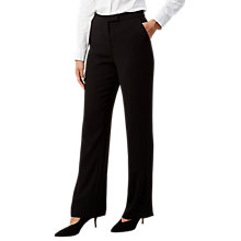Buy Hobbs Caitlyn Trousers, Black Online at johnlewis.com