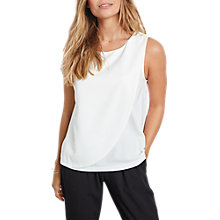 Buy hush Cannes Overlay Top, Ecru Online at johnlewis.com