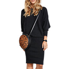 Buy hush Alexandra Dress, Charcoal Marl Online at johnlewis.com
