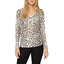 Buy Damsel in a dress Leopard Print Top, Multi Online at johnlewis.com