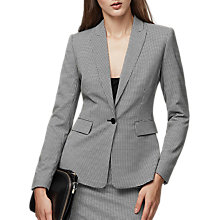 Buy Reiss Mason Tailored Houndstooth Blazer, Black/White Online at johnlewis.com