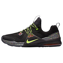 Buy Nike Zoom Command Men's Cross Trainers, Black/Volt/Grey Online at johnlewis.com