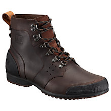 Buy Sorel Ankeny Leather Men's Hiking Boots Online at johnlewis.com