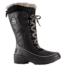 Buy Sorel Tourino Women's High Snow Boots, Black Online at johnlewis.com