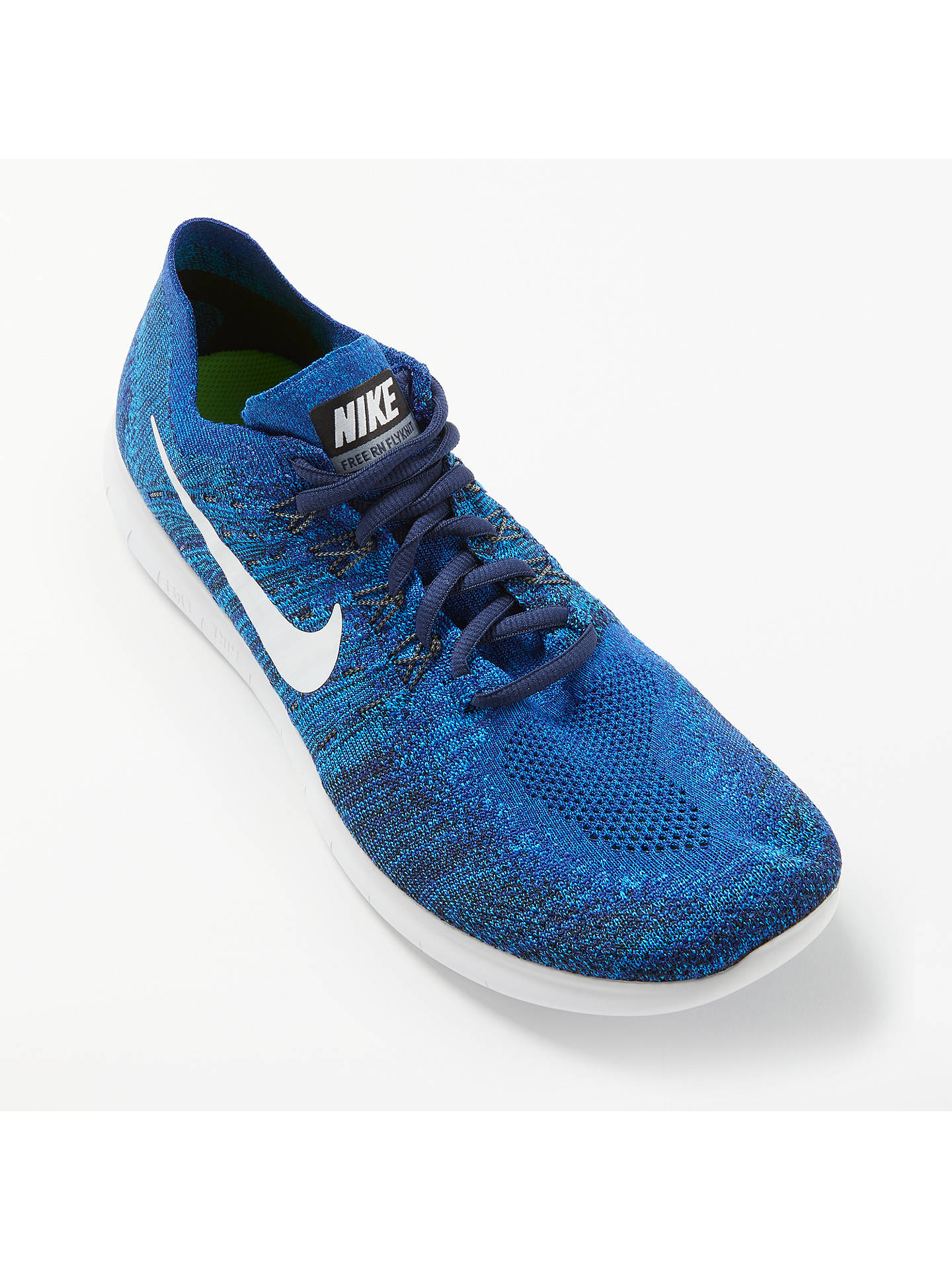 best website 9f891 65973 ... Buy Nike Free RN Flyknit 2017 Men s Running Shoes, Royal Blue Wolf  Grey, ...