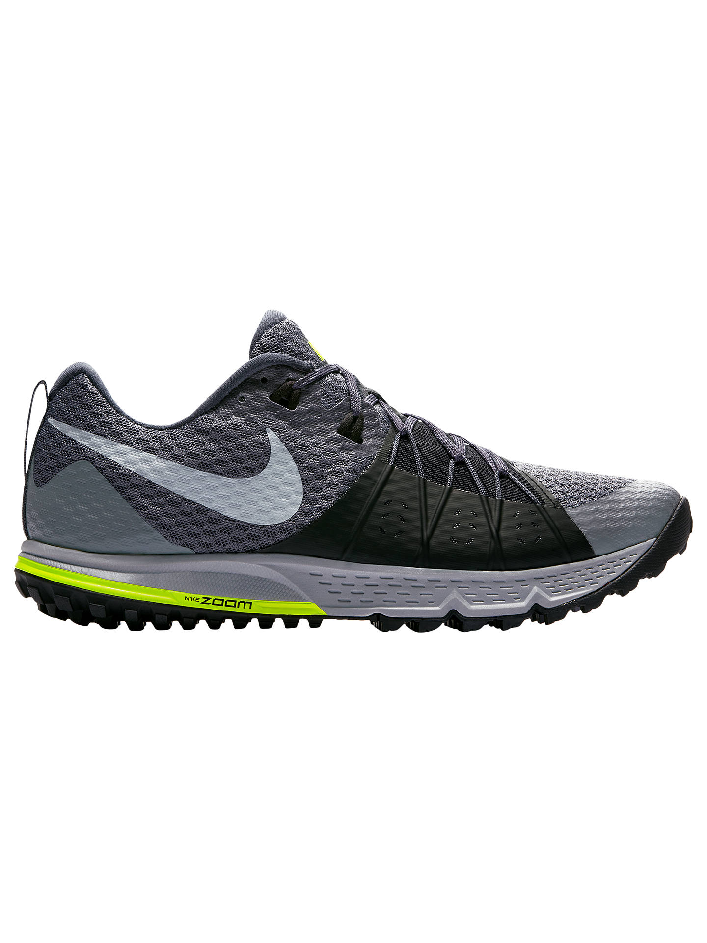 b4c4a5565a Buy Nike Air Zoom Wildhorse 4 Men's Running Shoes, Dark Grey, 7 Online at