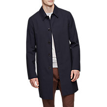 Buy Reiss York Overcoat, Navy Online at johnlewis.com