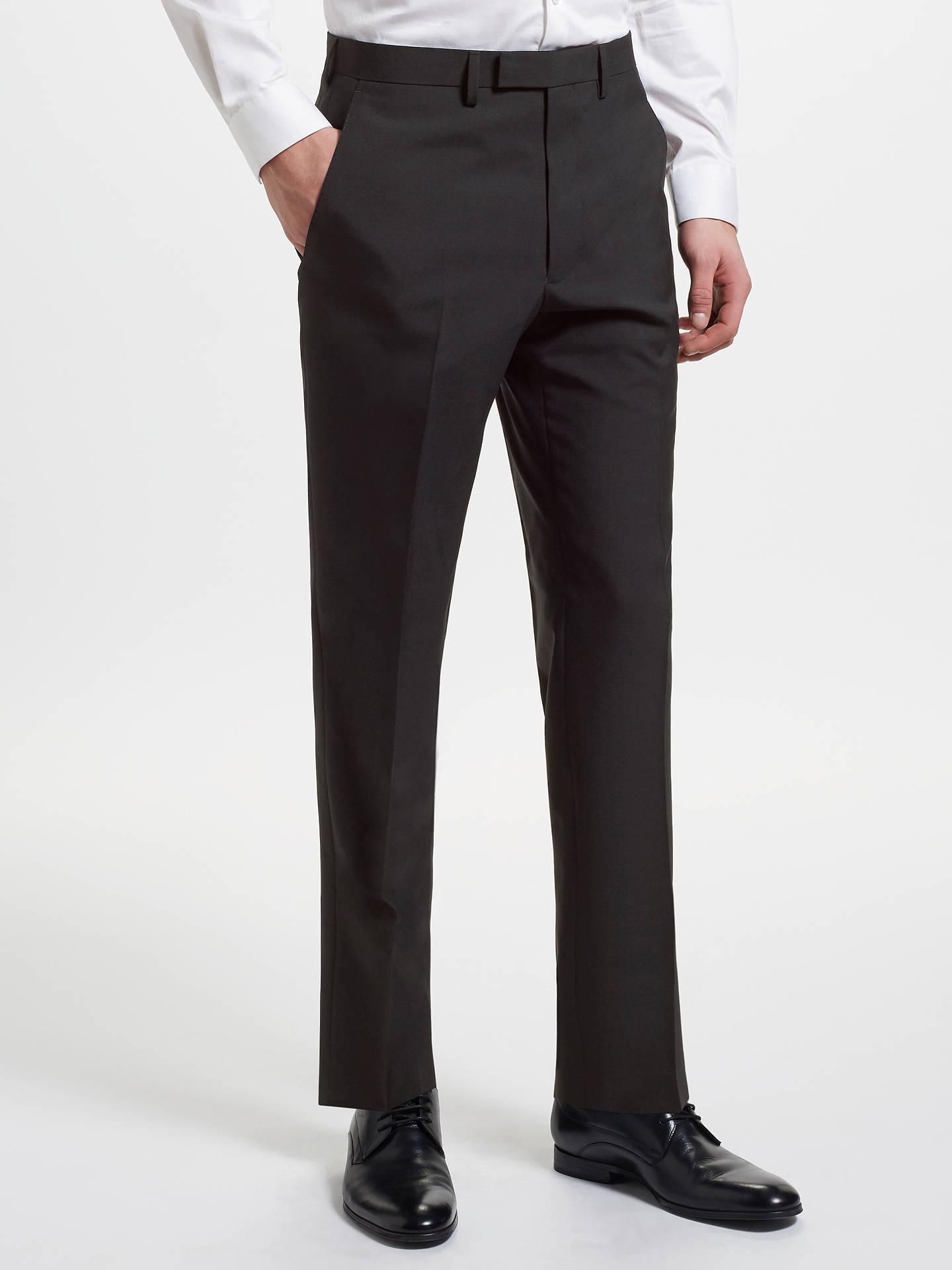Kin Slim Fit Suit Trousers Black At John Lewis Amp Partners