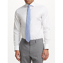 Buy John Lewis Thomas Mason Royal Oxford Tailored Fit Shirt, White Online at johnlewis.com
