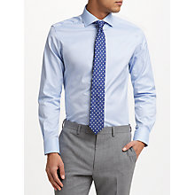 Buy John Lewis Thomas Mason Royal Oxford Tailored Fit Shirt, Sky Blue Online at johnlewis.com