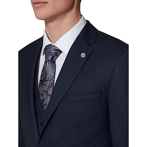 Buy Ted Baker Ralahj Wool Birdseye Tailored Suit Jacket, Navy Online at johnlewis.com