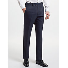Buy Kin by John Lewis Semi Plain Slim Fit Suit Trousers, Petrol Online at johnlewis.com