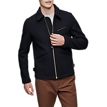Buy Reiss Clandeboyle Jacket, Navy Online at johnlewis.com