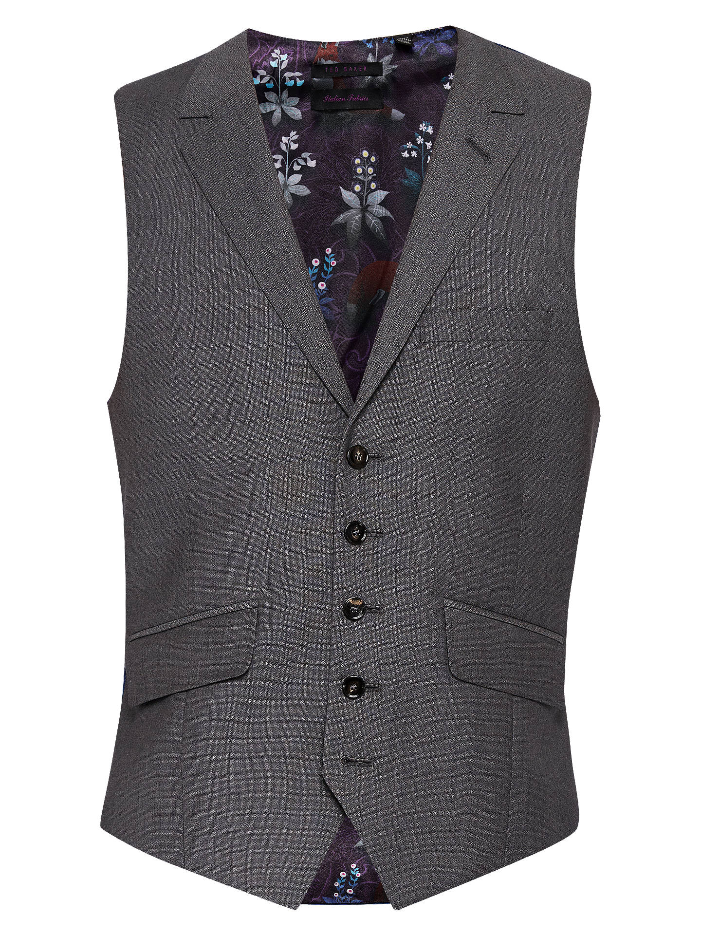 719ee21b094f1 Buy Ted Baker Bundaw Wool Semi Plain Tailored Waistcoat