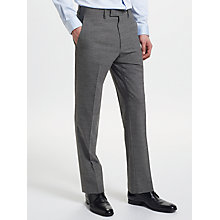 Buy Kin by John Lewis End on End Slim Fit Suit Trousers, Mid Grey Online at johnlewis.com