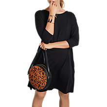 Buy hush Ivy Oversized Dress, Black Online at johnlewis.com