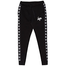 Buy Hype Boys' Logo Joggers, Black Online at johnlewis.com