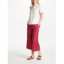 Buy John Lewis Short Sleeve Linen Shirt Online at johnlewis.com