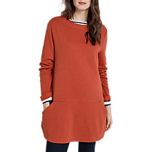 Buy Seasalt Flowering Tunic Top, Orange Online at johnlewis.com